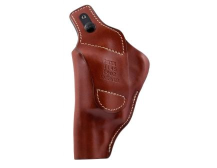 Hunter Company Pro-Hide Right Hand S&W Governor High Ride Holster w/ Thumb Break, Brown - 1145