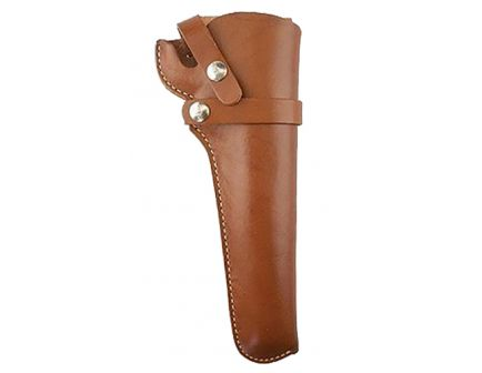 """Hunter Company 1100 Size 48 Right Hand 6.5"""" Ruger BlackHawk Holster, Smooth Brown - 110048"""