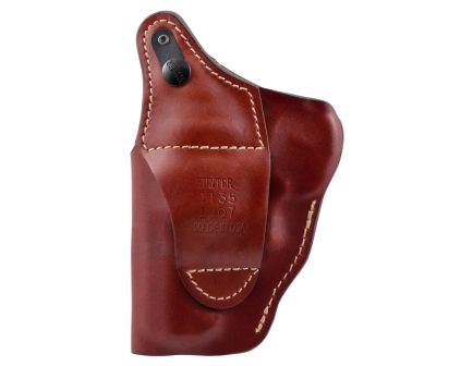 Hunter Company Pro-Hide Right Hand Ruger Alaskan High Ride Holster w/ Thumb Break, Brown - 1135