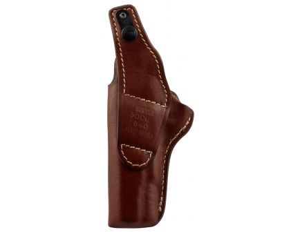 Hunter Company Pro-Hide Right Hand Colt Government/Combat High Ride Holster w/ Thumb Break, Brown - 5000-6