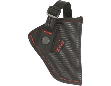 Allen Firebird MQR Size 00 Right Hand Ruger LCR/LCRx Holster, Black w/ Red Logo - 27100