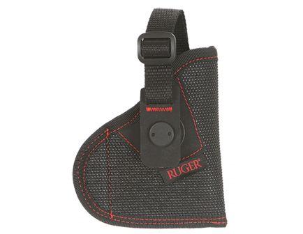 Allen Firebird MQR Size 11 Right Hand Ruger LCP/LCP II Holster, Textured Black w/ Red Logo - 27101