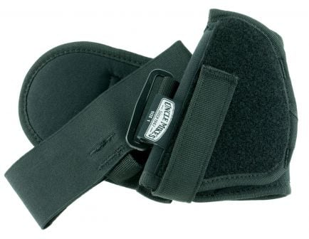 "Uncle Mike's Size 1 Right Hand 3"" to 4"" .32 to .380 Medium Autos Ankle Holster, Textured Black - 88211"