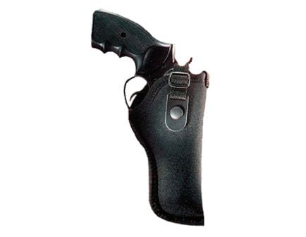 "Uncle Mike's Gun Mate Size 34 Right Hand 4"" to 6.5"" Medium/Long Frame Hip Holster, Textured Black - 21034"