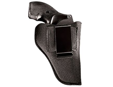 """Uncle Mike's Gun Mate Size 00 Right Hand 2.25"""" Small Frame Autos Inside-The-Pant Holster, Textured Black - 21300"""