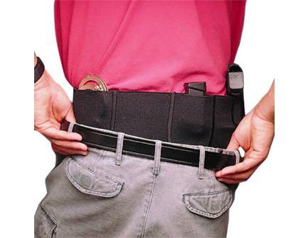 DeSantis Gunhide Belly Band Medium Ambidextrous Hand Beretta 84 Holster, Black - 060BJG2Z0