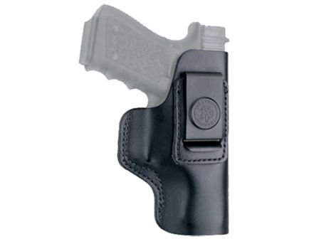 DeSantis Gunhide The Insider Right Hand Glock 42/43 Inside-The-Waistband Holster, Smooth Black - 031BAD9Z0