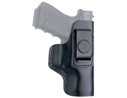 DeSantis Gunhide The Insider Left Hand Glock 42/43 Inside-The-Waistband Holster, Smooth Black - 031BBD9Z0
