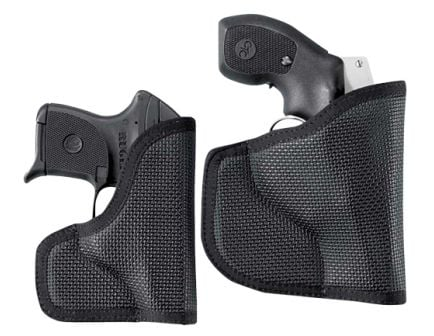 DeSantis Gunhide Nemesis Right Hand Colt Defender/Officer Holster, Smooth Black - N38BJB2Z0