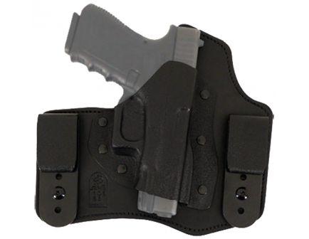 DeSantis Gunhide Intruder Right Hand 1911 Commander/Govt 45 Inside-The-Waistband Concealment Holster, Smooth Black - 105KA21Z0