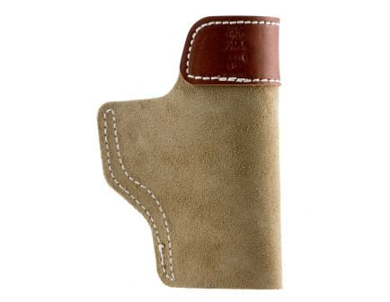 DeSantis Gunhide Sof-Tuck Left Hand Glock 43 Inside-The-Waistband Holster, Natural - 106NBD6Z0