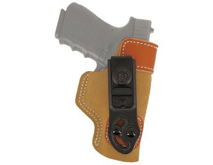 DeSantis Gunhide Sof-Tuck Right Hand S&W M&P Shield 9mm/.40 Inside-The-Waistband Holster, Brown - 106NAI4Z0