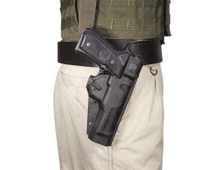 DeSantis Gunhide Stryker Size 9 Right Hand Beretta 92 Holster, Smooth/Textured Black - 108KA86Z0
