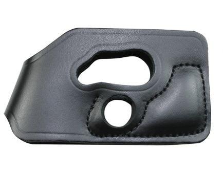 DeSantis Gunhide Pocket Shot Small Ambidextrous Hand .380 Inside-The-Pocket Holster, Smooth Black - 110BJU7Z0
