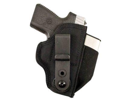 DeSantis Gunhide Tuck-This II Ambidextrous Hand Glock 17/19/22/23 Inside-The-Waistband Concealment Holster, Textured Black - M24BJLAZ0