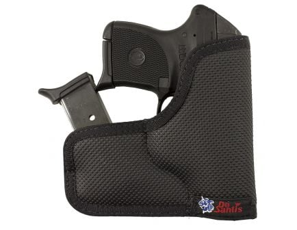 "DeSantis Gunhide Ammo Nemesis Ambidextrous Hand S&W J Frame 2"" Inside-The-Pocket Holster, Black - M33BJN3Z0"