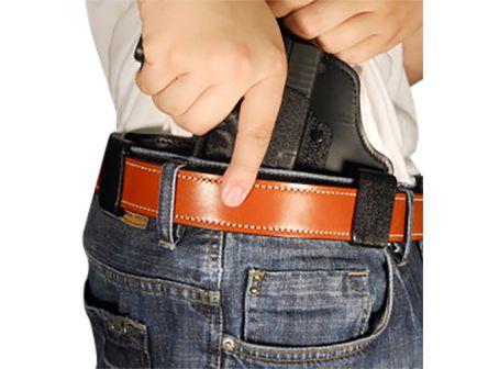 DeSantis Gunhide Intruder Right Hand Glock 42 Inside-The-Waistband Concealment Holster, Smooth Black - 105KAY8Z0