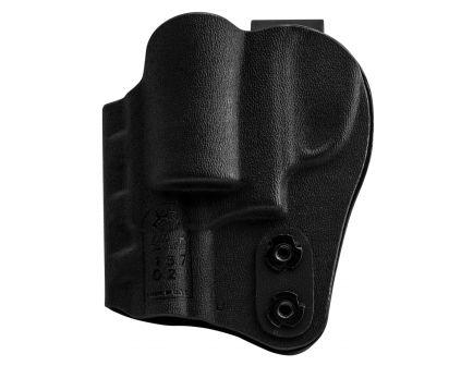 DeSantis Gunhide Slim-Tuk Ambidextrous Hand S&W J Frame Inside-The-Waistband Holster, Plain Black - 137KJ02Z0