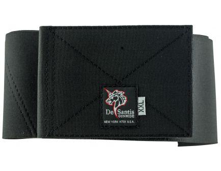 DeSantis Gunhide Option 4 Belly Band Extra Large Ambidextrous Hand Glock Inside-The-Waistband Holster, Black - 061BJG4Z0