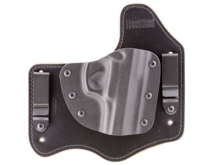 "PS Products Right Hand 4.4"" SIG P220 Inside-The-Waistband Hybrid Holster, Plain Black - HLHSIGP220"