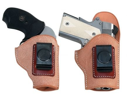 """El Paso Saddlery EZ Carry Right Hand 3"""" Springfield XD 9mm/.40 2-Piece Holster, Russet - EXD93RR"""