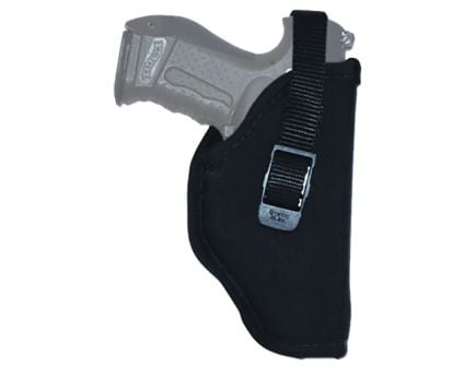 """GrovTec Size 07 Right Hand 3.5"""" to 5"""" Single Action Autos Hip Holster, Smooth Black - GTHL14707R"""