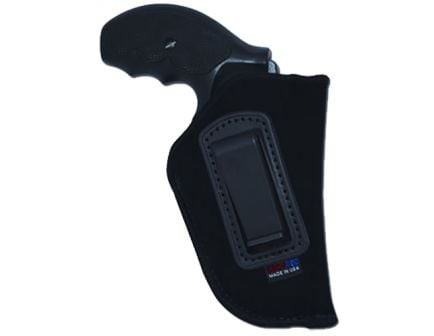 """GrovTec Size 05 Right Hand 4"""" to 5"""" Large Semi Autos Inside-The-Pant Holster, Smooth Black - GTHL14105R"""
