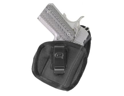 """GSM Outdoors The Tempest Right Hand 1"""" to 1.5"""" Micro Inside-The-Waistband Conceal Carry Holster, Textured Black - CRF-TPSTSA1M-1R"""