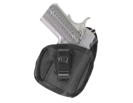"""GSM Outdoors The Tempest Right Hand 2"""" to 2.5"""" Sub-Compact Inside-The-Waistband Conceal Carry Holster, Textured Black - CRF-TPSTSA1S-2R"""