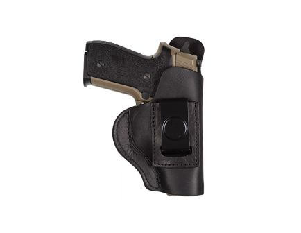 Tagua Gunleather Super Soft Right Hand Glock 43 Inside-The-Pant Holster, Black - SOFT355
