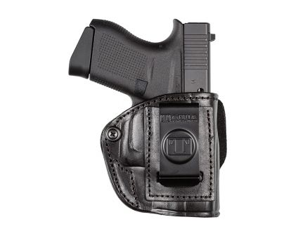 Tagua Gunleather 4-In-1 Right Hand S&W Bodyguard .380 Inside-The-Pant Holster, Black - IPH4720