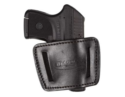 Tagua Gunleather 2-In-1 Small Ambidextrous Hand Taurus TCP Inside-The-Waistband Holster, Black - IWH001