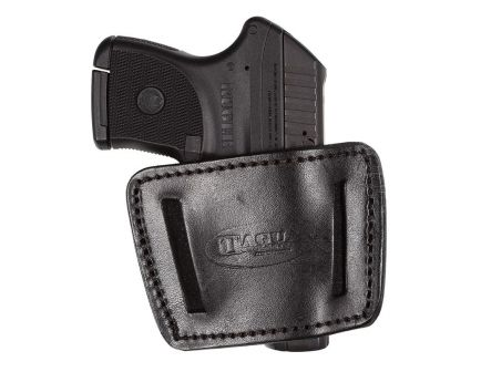 Tagua Gunleather 2-In-1 Large Ambidextrous Hand HK USP Compact 45 Inside-The-Waistband Holster, Black - IWH003