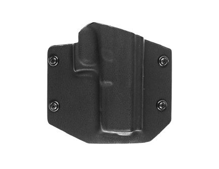 Tagua Gunleather OathKeeper Right Hand Glock 43 Outside-The-Waistband Holster, Black - OATH355