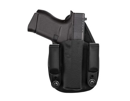 Tagua Gunleather Recruiter Right Hand S&W M&P Shield/M2.0 9mm/.40 Inside-The-Waistband Holster, Black - RECRUIT1010