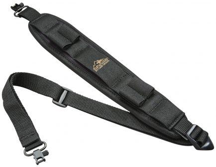 Butler Creek Comfort Stretch Adjustable Alaskan Magnum Sling w/ Swivels, Black - 81033