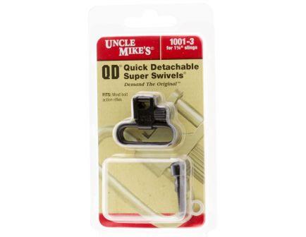 """Uncle Mike's 1.25"""" Quick Detach Super Swivel, Black - 10013"""