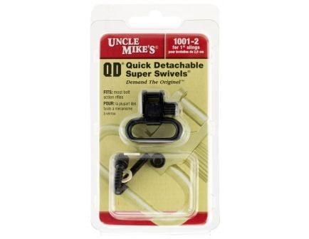"""Uncle Mike's 1"""" Quick Detach Sling Swivel for Remington 760/7600/Pre 1968, Black - 12212"""