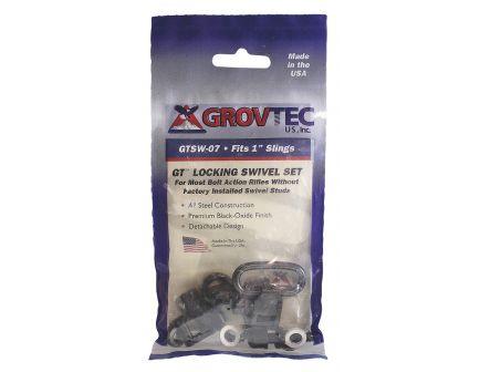 """GrovTec 1"""" Machine Screw Forend Locking Swivel Set, Black Oxide - GTSW07"""