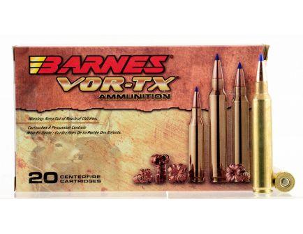 Barnes Bullets VOR-TX 165 gr Tipped TSX Boat Tail .300 RUM Ammo, 20/box - 21571