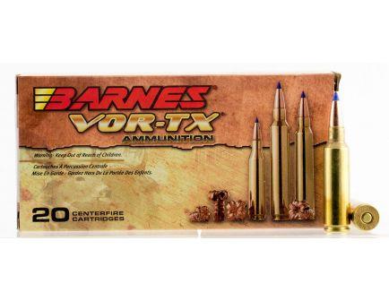 Barnes Bullets VOR-TX 150 gr Tipped TSX Boat Tail .300 WSM Ammo, 20/box - 21567