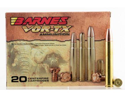 Barnes Bullets VOR-TX Safari 500 gr TSX Flat Base .458 Lott Ammo, 20/box - 22027