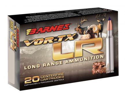 Barnes Bullets VOR-TX LR 145 gr LRX Boat Tail 7mm RUM Ammo, 20/box - 28985