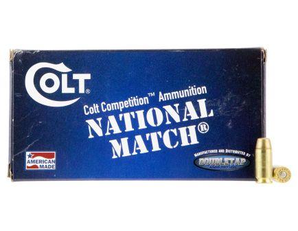 Colt DT Defense 180 gr Full Metal Jacket .40 S&W Ammo, 50/box - 40SW180FMJCT