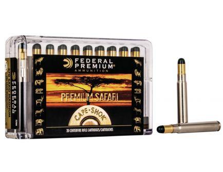 Federal Premium Safari Cape-Shok 286 gr Woodleigh Hydro Solid .370 Sako Mag Ammo, 20/box - P370WH