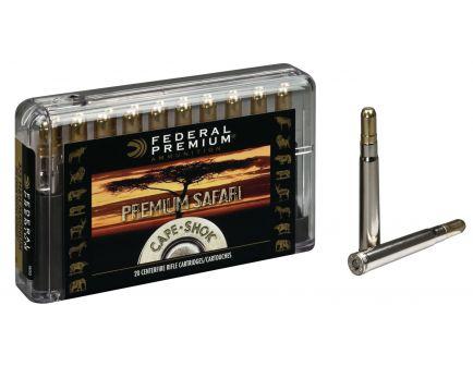 Federal Premium Safari Cape-Shok 300 gr Trophy Bonded Sledgehammer Solid .375 H&H Mag Ammo, 20/box - P375T2