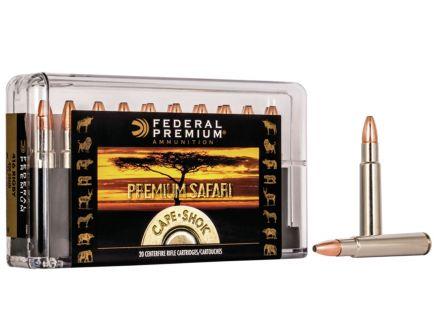 Federal Premium Safari Cape-Shok 400 gr Swift A-Frame .416 Rigby Ammo, 20/box - P416SA