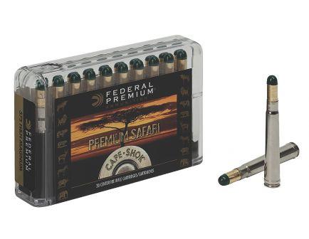 Federal Premium Safari Cape-Shok 500 gr Woodleigh Hydro Solid .458 Lott Ammo, 20/box - P458LWH