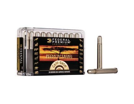Federal Premium Safari Cape-Shok 500 gr Trophy Bonded Bear Claw .458 Lott Ammo, 20/box - P458LT1