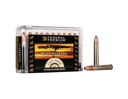 Federal Premium Safari Cape-Shok 500 gr Swift A-Frame .458 Win Mag Ammo, 20/box - P458SA